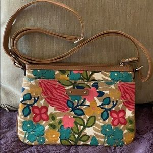 Relic Crossbody Bag Purse Floral adjustable